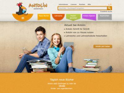 Antolin – neu im Gym und in der Bibliothek
